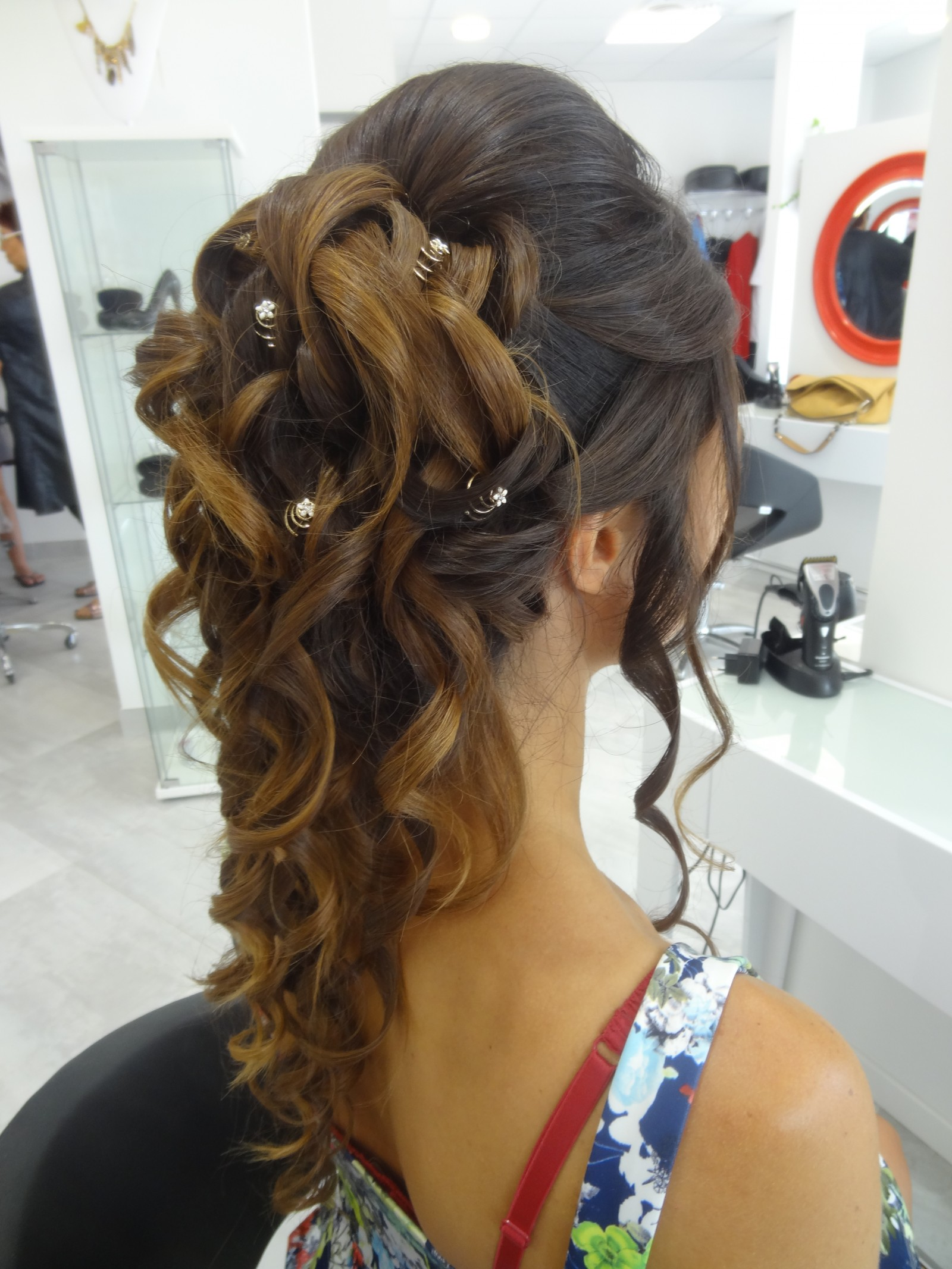 Coiffure Mariage Montpellier Specialiste Chigons Mariees